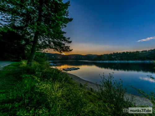 #0115 - Sonnenuntergang am Rursee - Slowdown Sundown (Winwood)