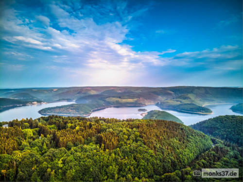 #0070 - Rursee mit Dunst 1 - The Lake (Anderson)