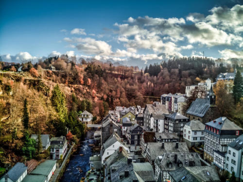 P0142 - Monschau Old Town Arial 2 - Early Autumn (Woody Herman)